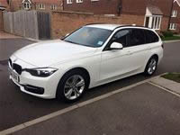 2015 BMW 3 Series Touring - 23% Tint - ULTIMATE TINTING BRIGHTON